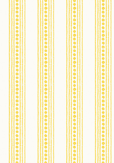 New Haven Stripe - Yellow / Cream