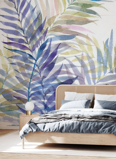 Mural - Tropical Leaves (Per Sqm)