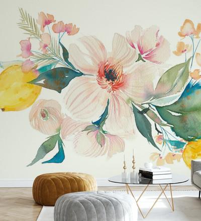 Mural - Citrus Summer II (Per Sqm)