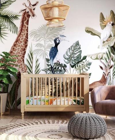 Mural - Jungle Fever (Per Sqm)