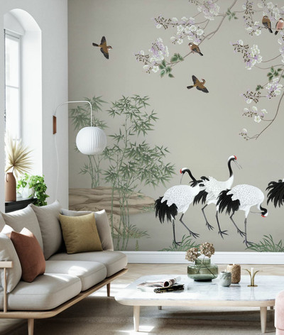 MURAL - UNDER THE BIRD TREE (PER SQM)