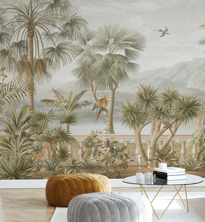 MURAL - TROPICAL PLATEAU (PER SQM)