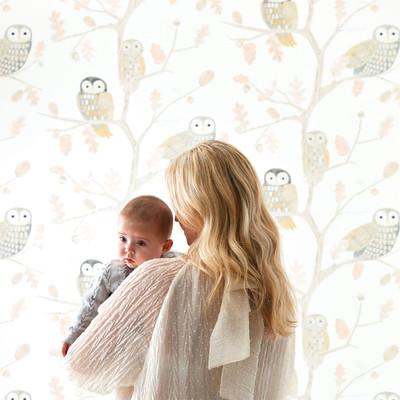 LITTLE OWLS - POWDER PINK