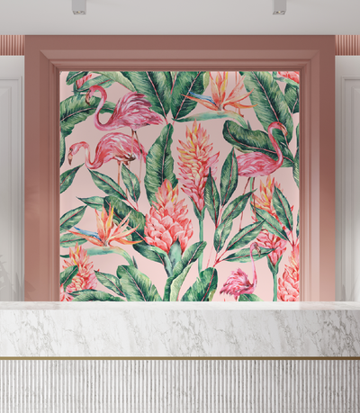 Mural - Flamingo Fusion(Per Sqm)