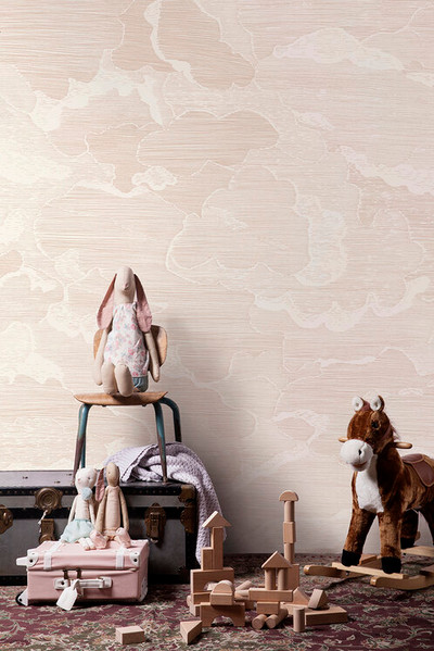 Mural - Up And Away Blush (Per Sqm)