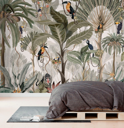 MURAL - EXOTIC JUNGLE (PER SQM)