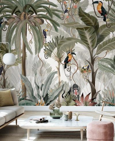 Mural - Exotic Jungle (Per Sqm)