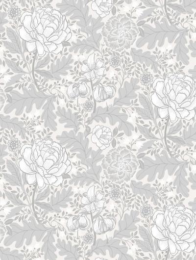 Camile - Grey / White