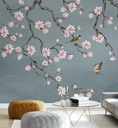 MURAL - BIRDS MEETING PLACE (PER SQM)