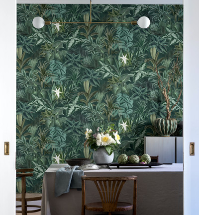 MURAL - MADAGASCAR LEAVES (1.8m x 2.65m)