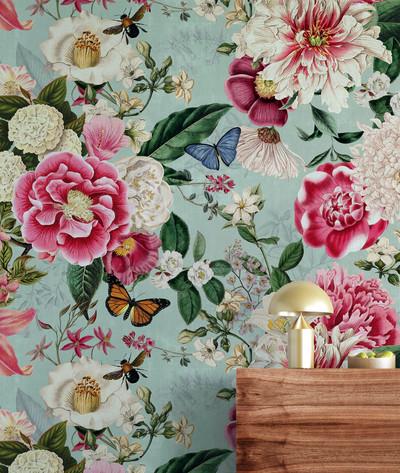 Mural - Fairy Garden Mint (Per Sqm)
