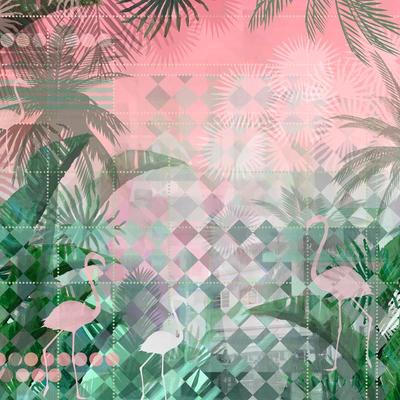 Mural - Miami Deco (2.9m X 2.65m)