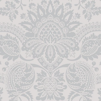 DUKES DAMASK - GREY (LAST ROLL)
