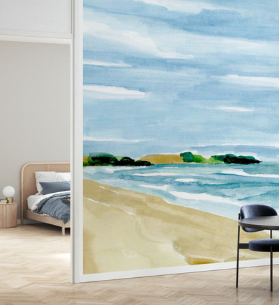 MURAL - COASTLINE CALM (PER SQM)