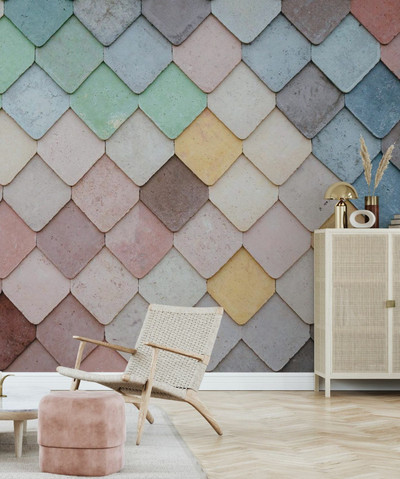 MURAL - TILE PATTERN (PER SQM)