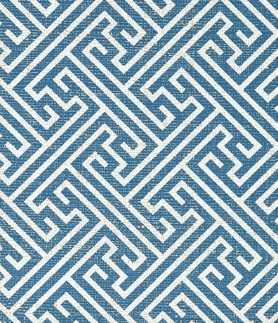 CHARLOTTE RAFFIA - BLUE & WHITE