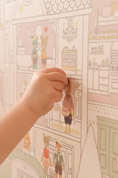 DOLLHOUSE WALL STICKERS