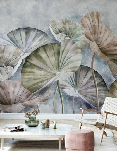 MURAL - LOTUS LEAVES (PER SQM)