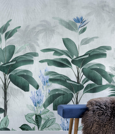 MURAL - BOTANICAL BLISS BLUEBELL (PER SQM)