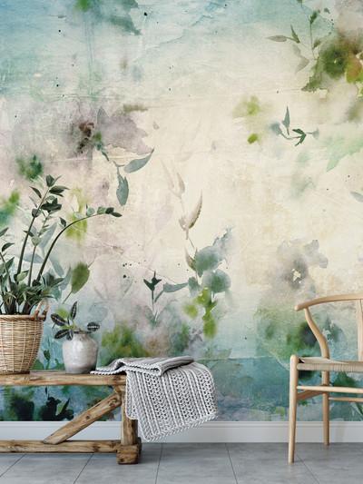 Mural - Como Blue (Per Sqm)
