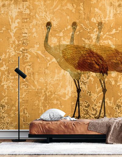 Mural - Crane (Per Sqm)