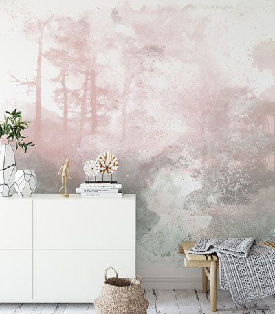 MURAL - FOGGY FIELD (PER SQM)