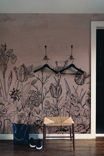 Mural - Tulip Pink (Per Sqm)