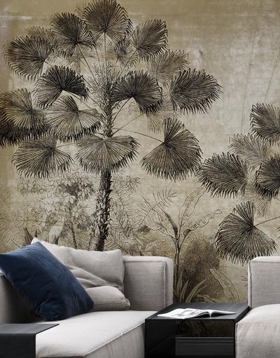 Mural - Urban Jungle Brown (Per Sqm)
