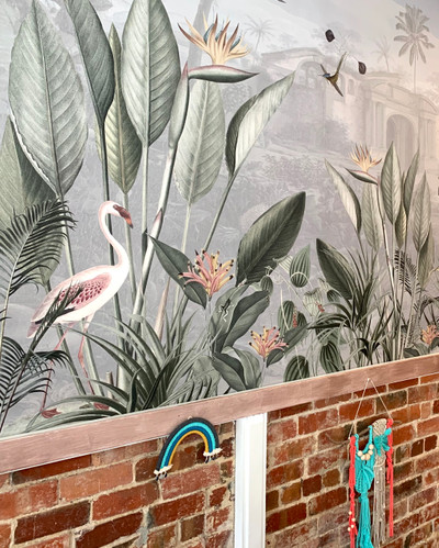 MURAL - BOTANICAL BEAUTY PANORAMA (PER SQM)
