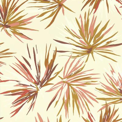 Aucuba - Rosewood / Gold / Parchment