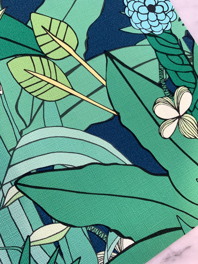 Lush Garden - Emerald