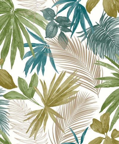 Wild Palms - Teal