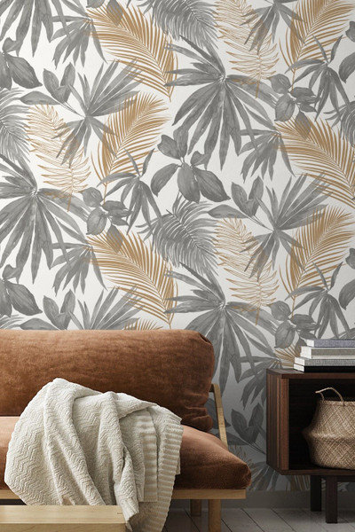 Wild Palms - Grey