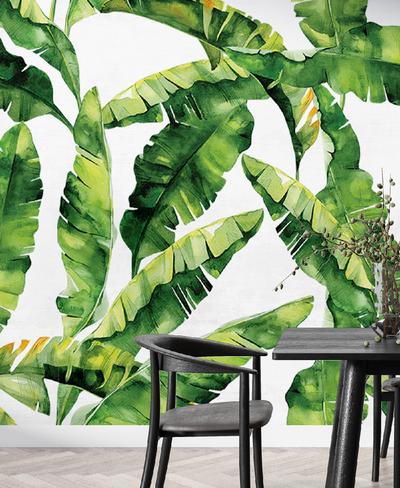 Mural - Bananarama Lime (Per Sqm)