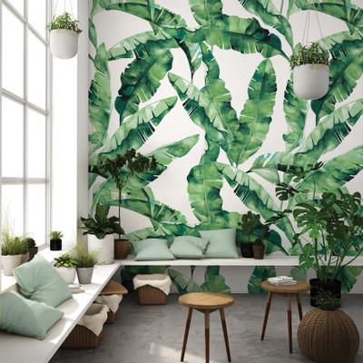 Mural - Bananarama Jade (Per Sqm)