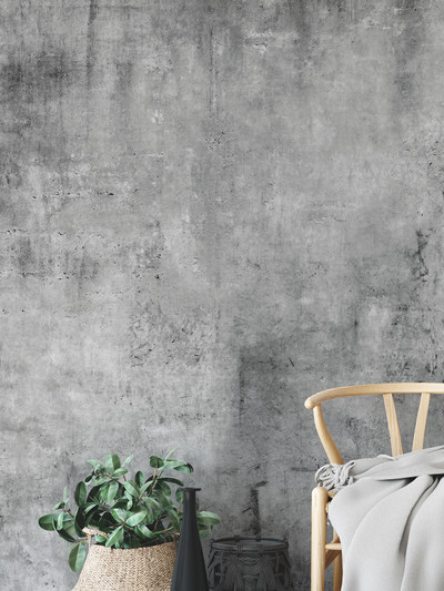 Mural - Concrete Warehouse Grey (Per Sqm)