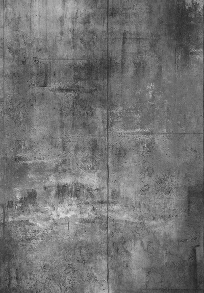 Mural - Concrete Warehouse Panels Charcoal (Per Sqm)