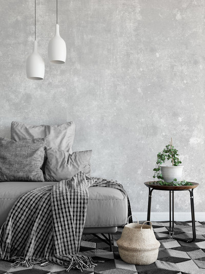 Mural - Concrete Wash Grey (Per Sqm)