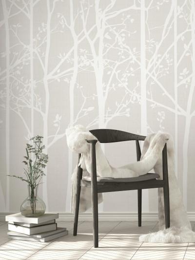 Mural - Silhouette Cream (Per Sqm)