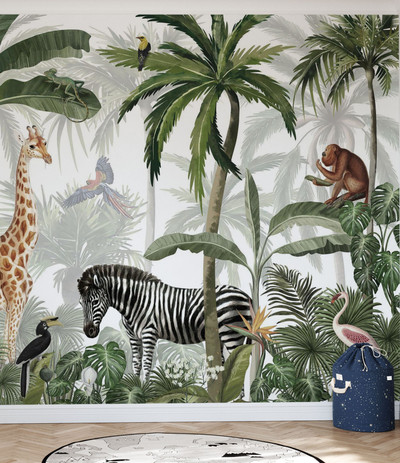 MURAL - JUNGLE JIVE (PER SQM)