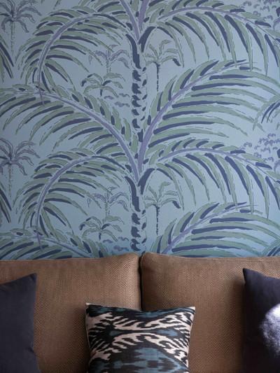 Palm House - Evening Blue (2 Roll Set)