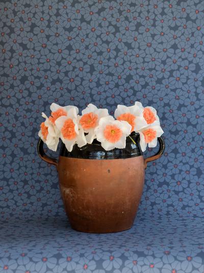 Flower Shower - Indigo