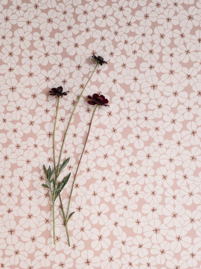 Flower Shower - Dusty Coral
