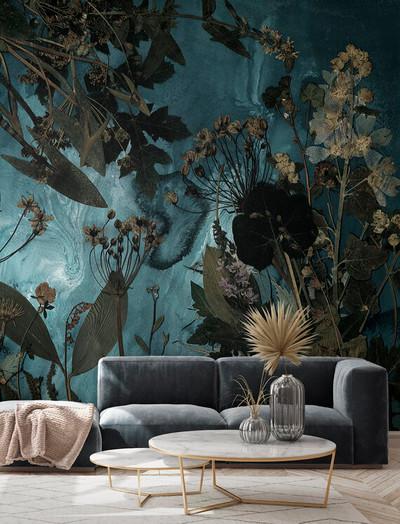 Mural - Flora Hysterica III (Per Sqm)