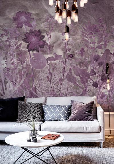 Mural - Flora Hysterica II (Per Sqm)