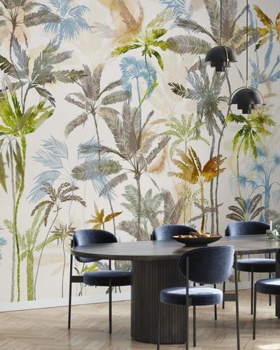 MURAL - RISING PALMS (PER SQM)