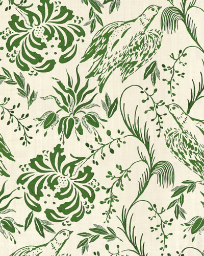 Folk Embroidery - Green