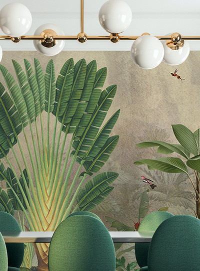 Mural - Banana Tree (Per Sqm)