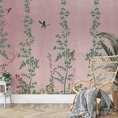 Mural - Chinois Pink (Per Sqm)