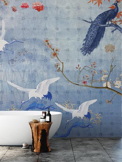 Mural - Delft Blue (Per Sqm)